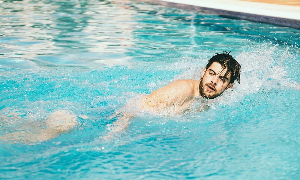 A natação é o melhor buster do stress