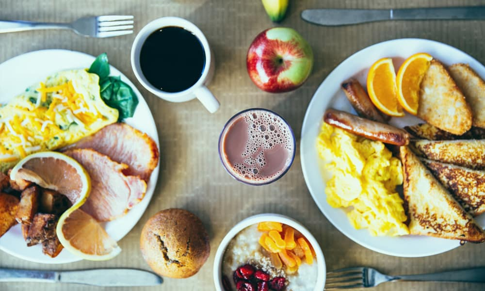 Tome seu café da manhã como um rei