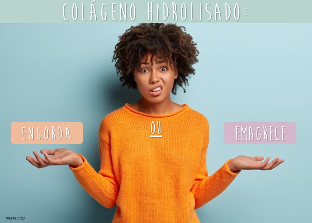 Colágeno Hidrolisado: Engorda ou Emagrece?