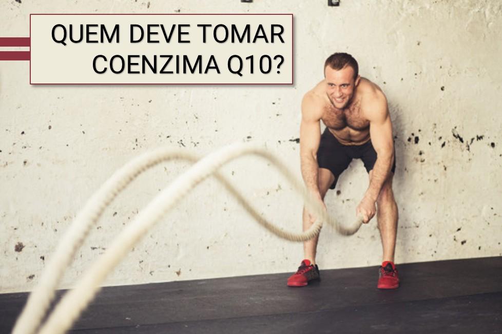 Quem deve tomar coenzima Q10?